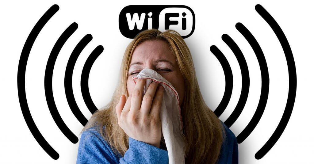 Alergia a Wifi. Mito ou verdade?