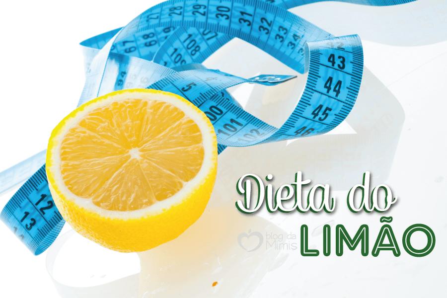 Conheça a dieta do limão