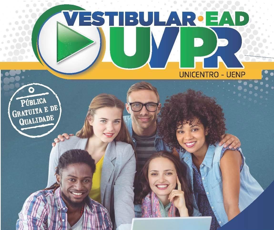 Abertas as inscrições para o Vestibular EaD 2020 da UVPR