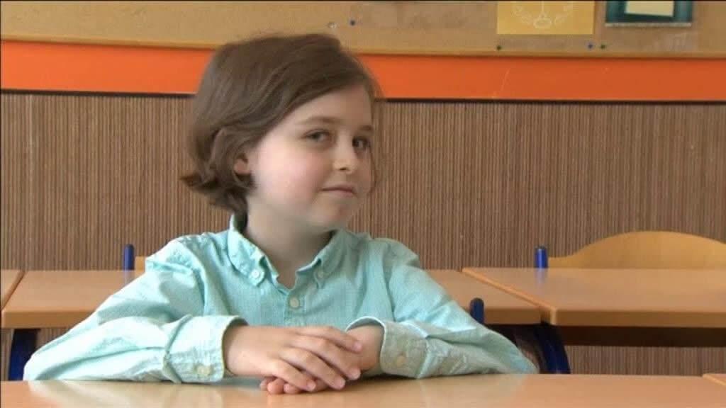 Menino de 8 anos é aprovado em Universidade na Bélgica
