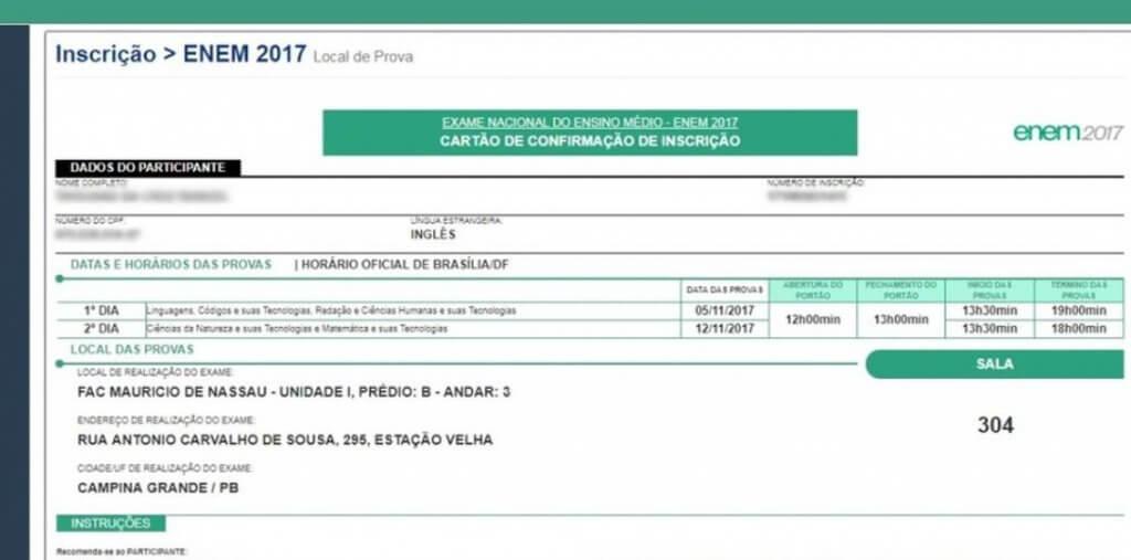Inep libera consulta de locais das provas do Enem 2018
