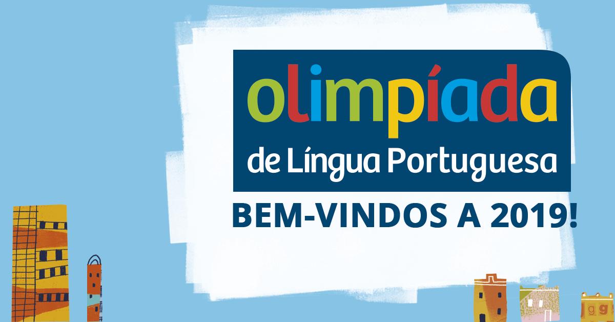 Abertas inscrições para Olímpiada Brasileira de Língua Portuguesa 2019
