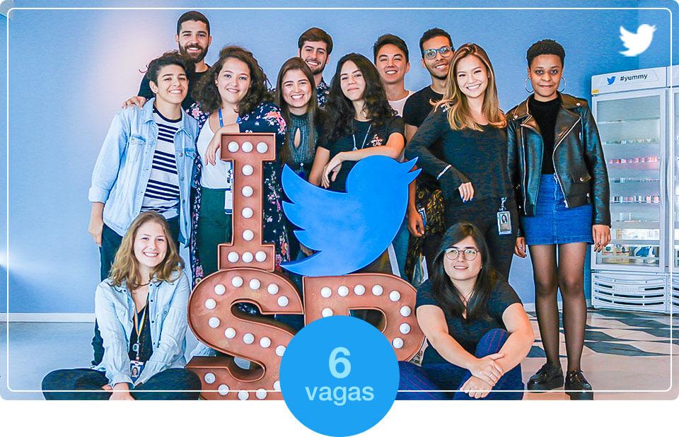 Twitter abre programa de estágios em São Paulo