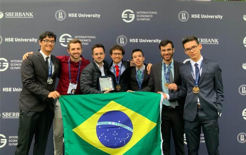 Brasil ganha medalha de ouro na Olímpiada Internacional de Economia 2019