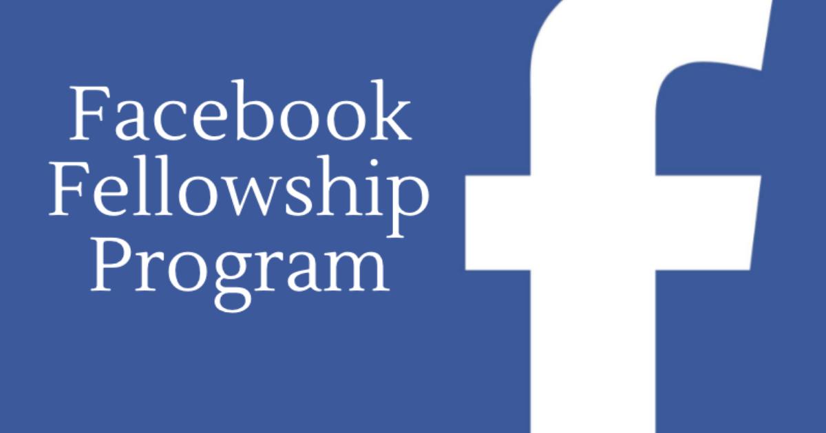 Facebook oferece bolsas integrais para doutorado em qualquer lugar do mundo