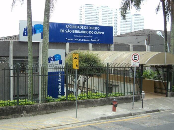 Abertas inscrições para o Vestibular 2020 da Faculdade de Direito de São Bernardo do Campo