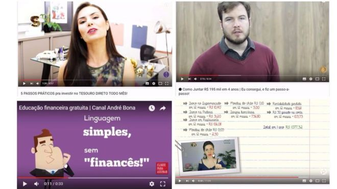 Canais sobre Finanças no Youtube