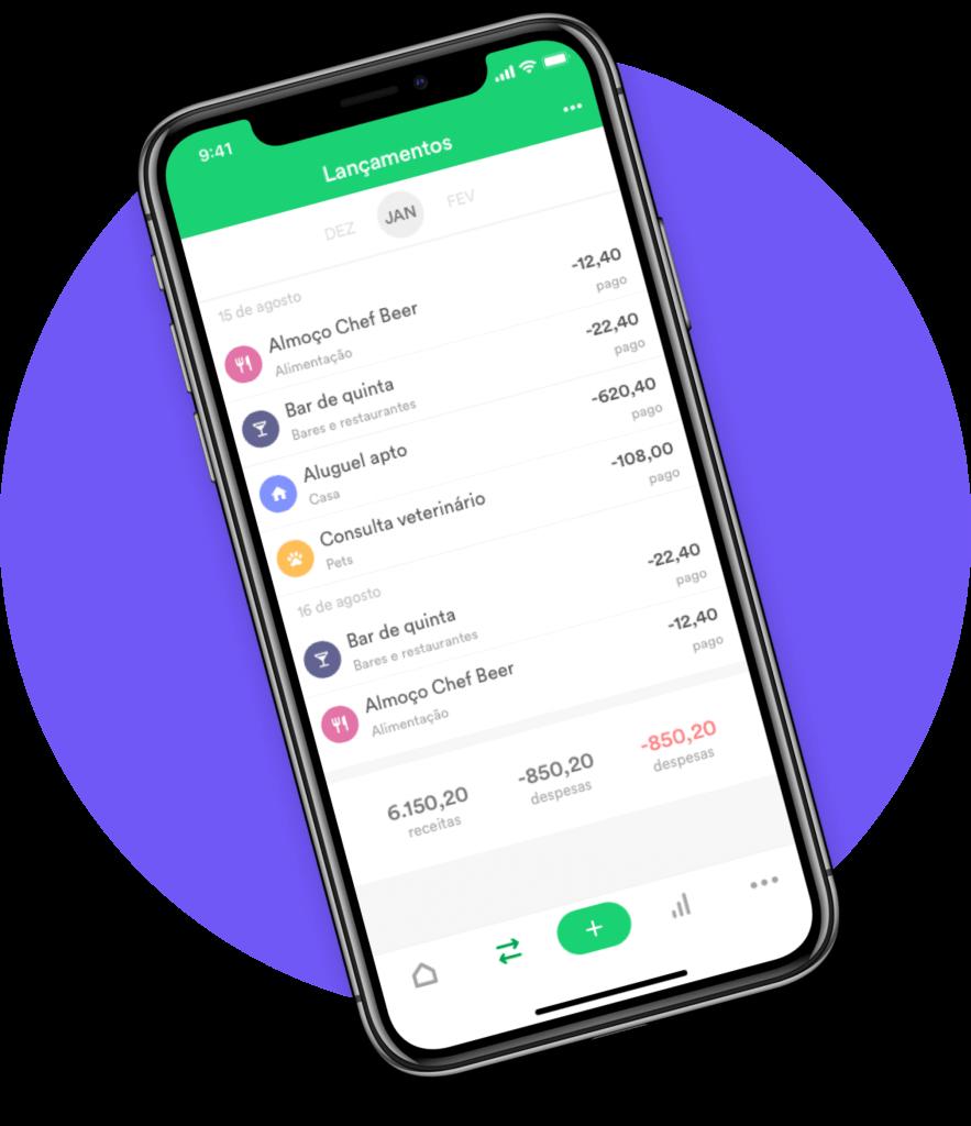 App de Organização Financeira
