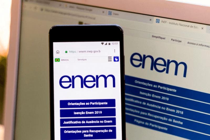 Inep confirma Enem Digital para todos os estados e para o DF