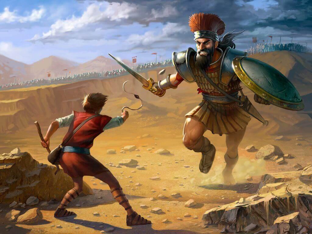 Golias teria sido realmente um gigante?