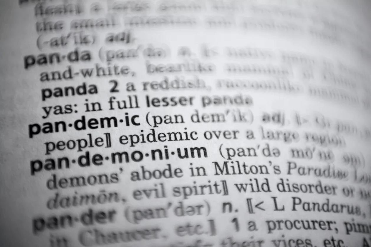 Pandemia é eleita palavra do ano pelo dicionário Merriam-Webster