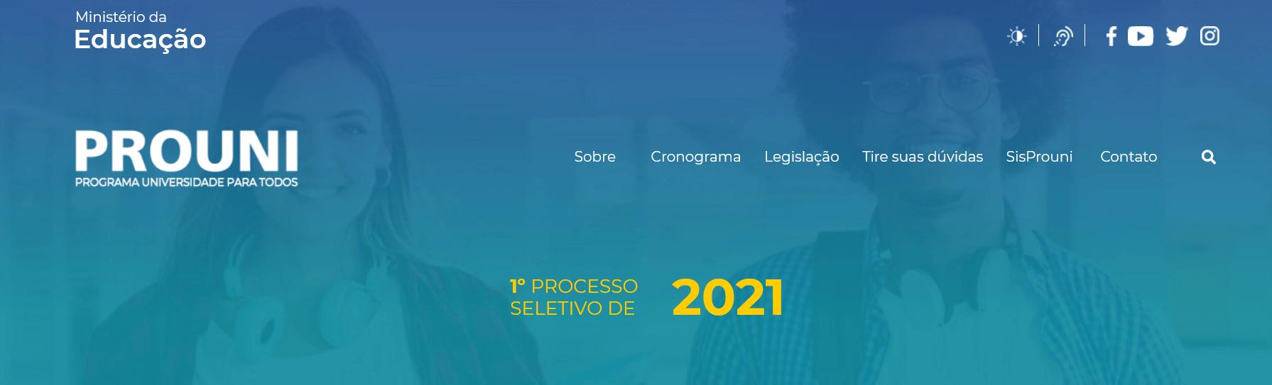 MEC muda rega para bolsas remanescentes do ProUni 2021/1