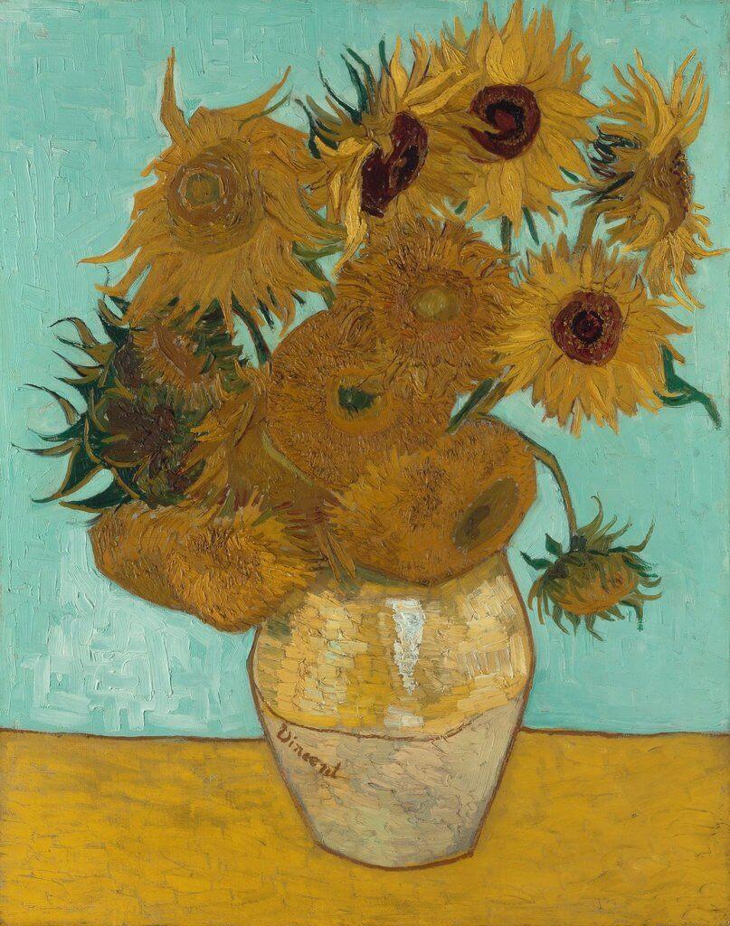 Girassóis de Van Gogh: confira algumas curiosidades sobre a famosa pintura